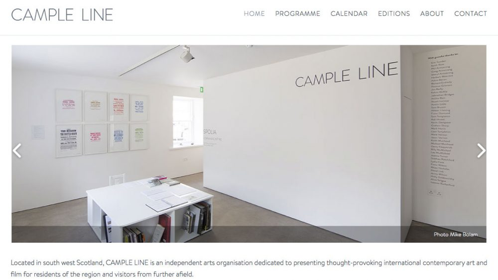 CAMPLE LINE - Arts and Film
