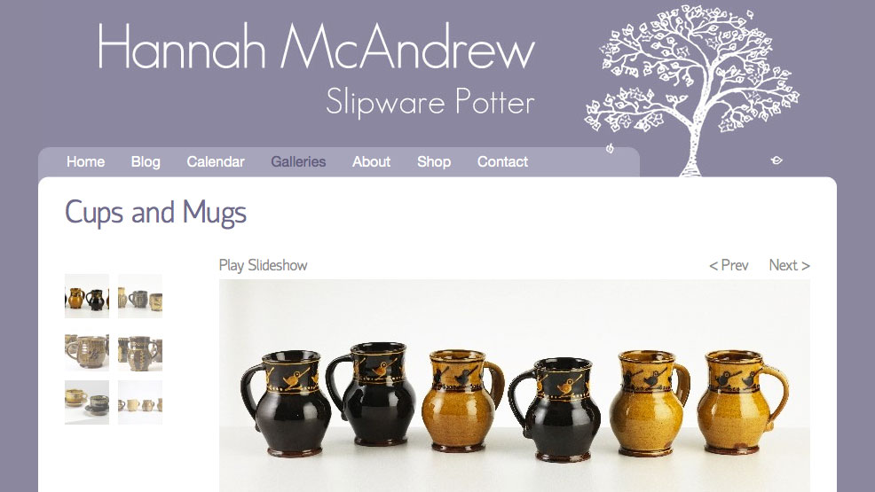 Hannah McAndrew - Potter