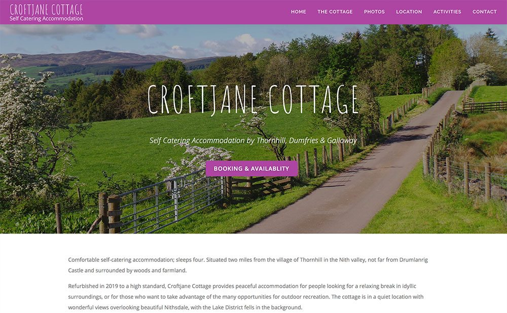 Croftjane Self Catering Accommodation